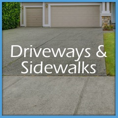 Driveways and Sidewalks Washing Services